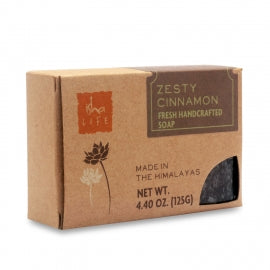 Zesty Cinnamon Handmade Soap, 125 gm