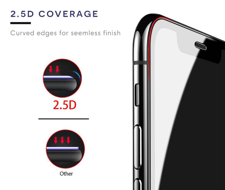 iPhone XR ARMOUR 2.5D Coverage