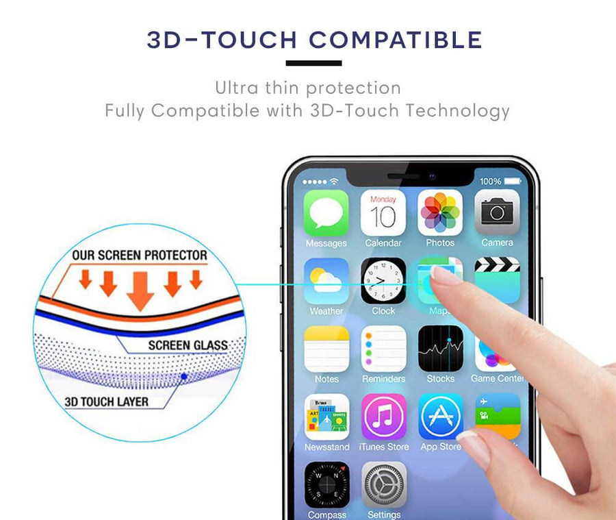 iPhone XR ARMOUR 3D Touch Compatible
