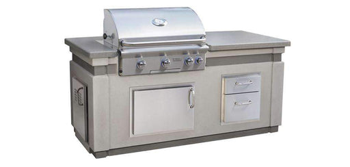 AOG L-Series BBQ Island Kit