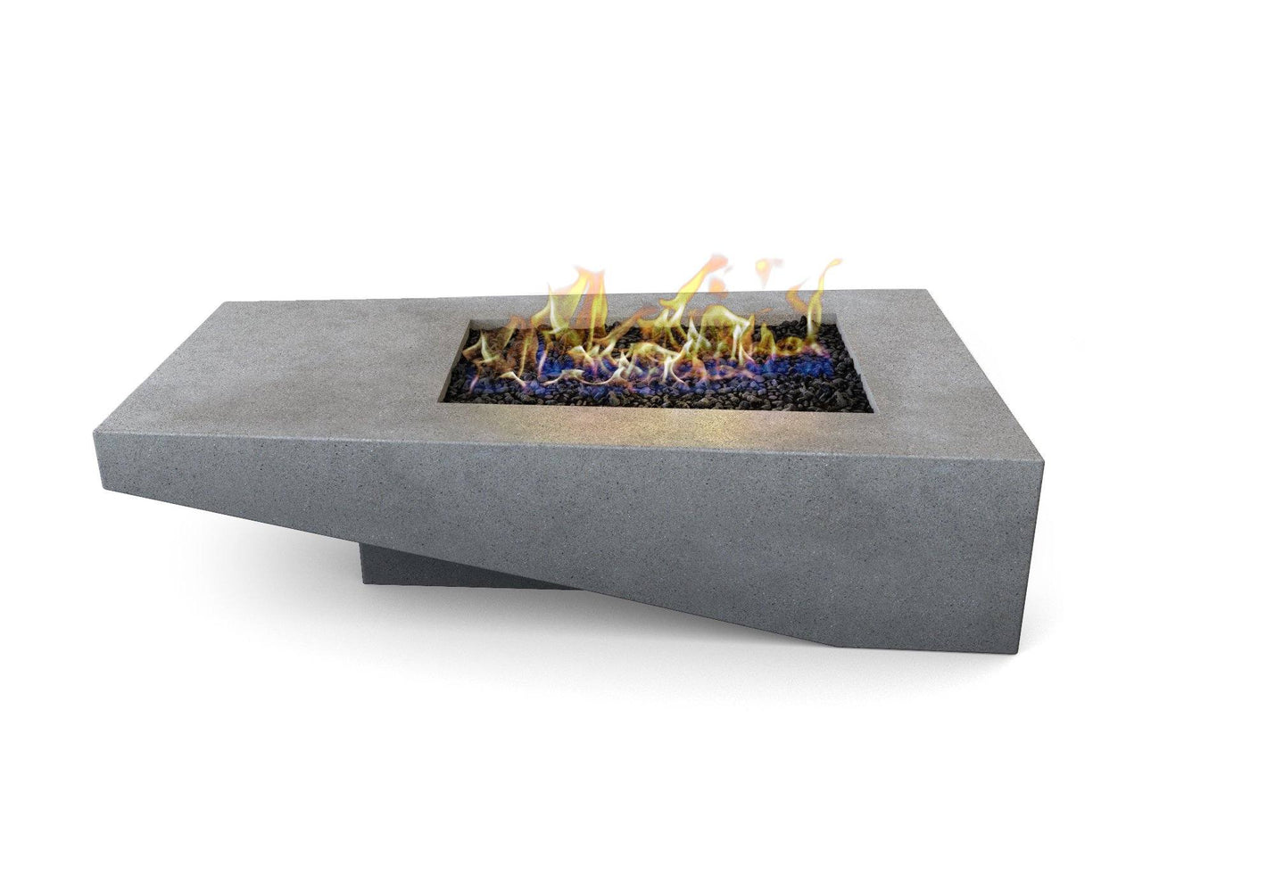 Atlas Concrete Fire Pit Table By Nisho - Nisho