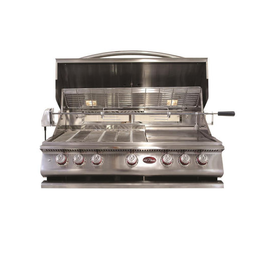 BBQ Built in Grills P 5 Burner w/ Rotisserie & back Burner-LP - Cal Flame