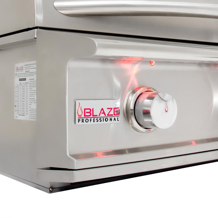 Blaze 4 Burner Professional Built-In Propane Gas Grill