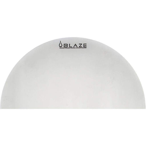 Blaze Half Round Stainless Steel Heat Deflection Plate - Blaze