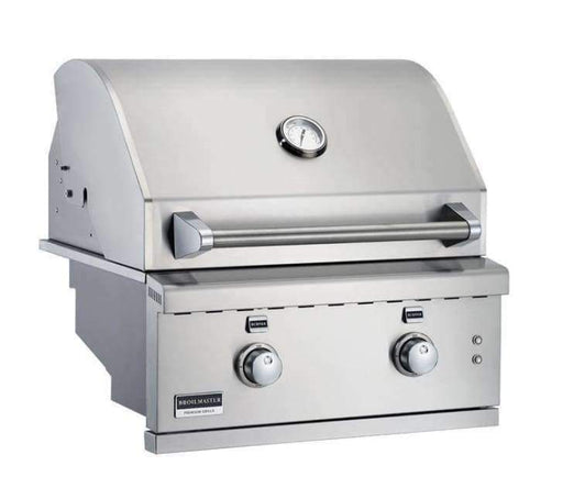 Built In Grill - Broilmaster Grill - 2 Burner Stainless Steel