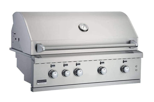 "Built In Grill - Broilmaster Stainless Steel 42"" Grill Head 4-Burner"