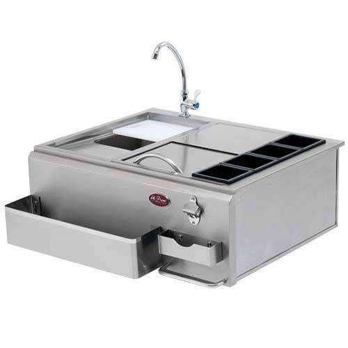 Cal Flame 30 Inch Outdoor BBQ Sink Station - Cal Flame