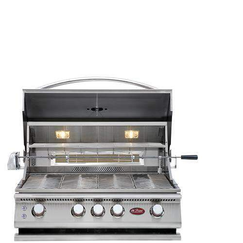 Cal Flame 4 Burner Grill - Built In Convection BBQ - Cal Flame