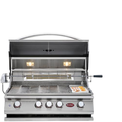 Cal Flame Grill P4  Built In BBQ with 4 Burners - Cal Flame