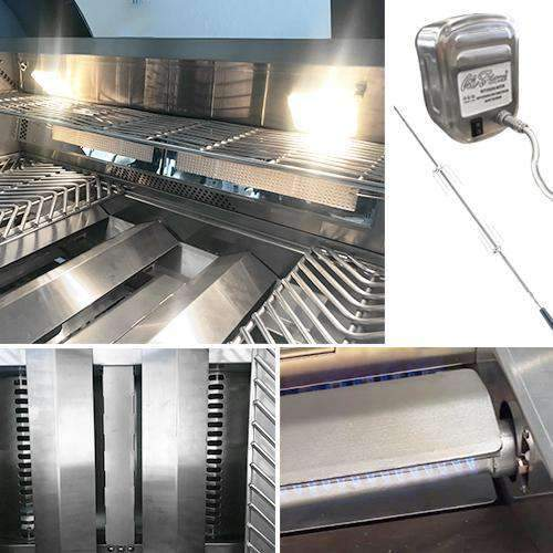 Cal Flame Grill P4 Multi View