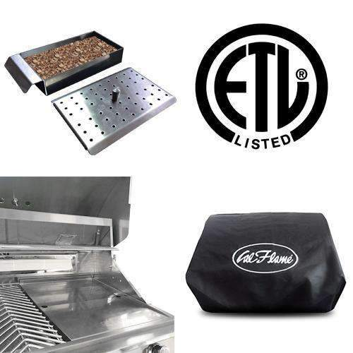 Cal Flame Grill P4 Included Accessories
