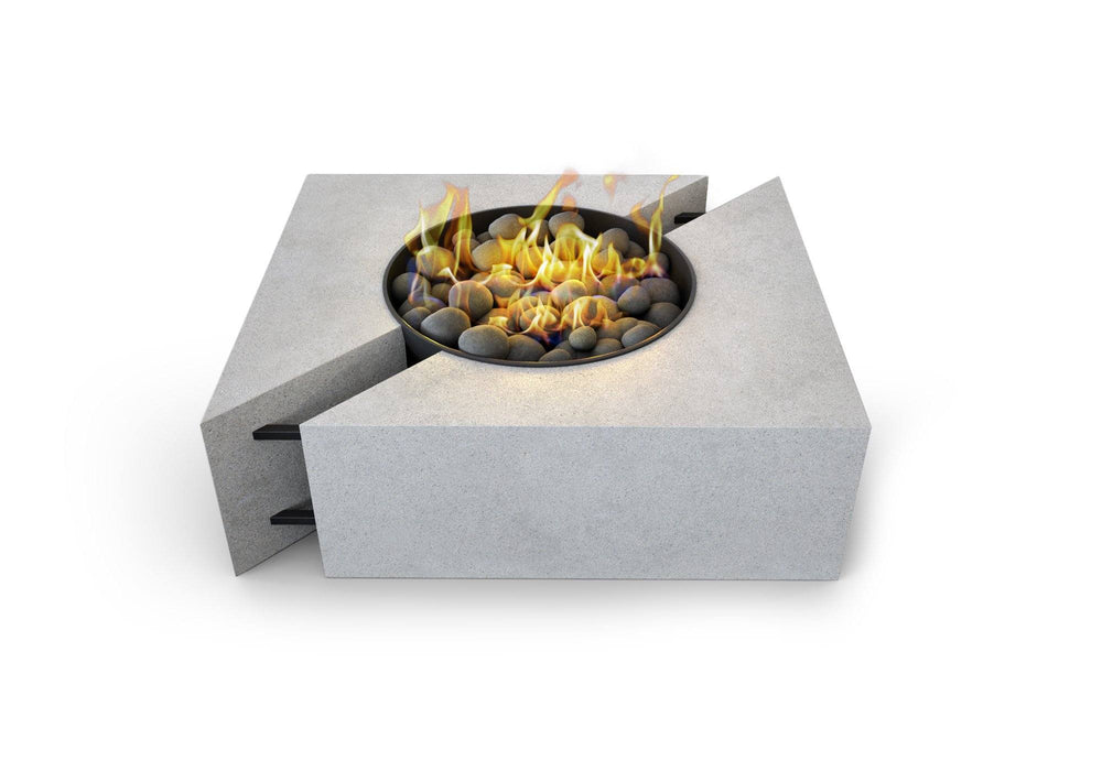 Chaos Concrete Fire Pit Table By Nisho