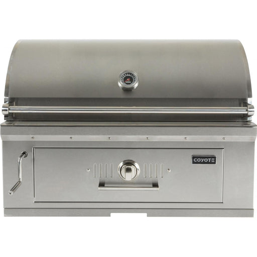 Coyote 36 Inch Built In Charcoal Grill - Coyote