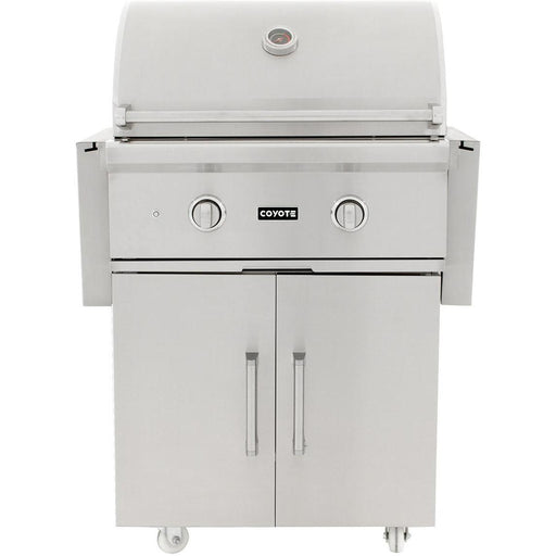 Coyote C Series 28 Inch Grill with Cart  2 Burner - Coyote