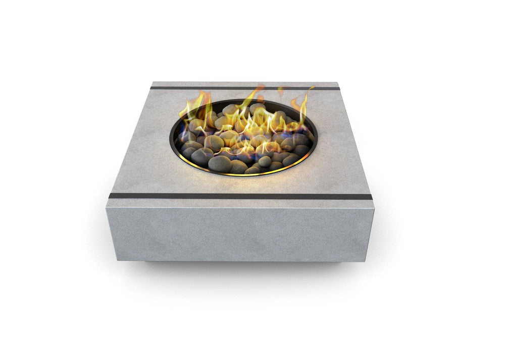 Cronus Concrete Fire Pit Table by Nisho