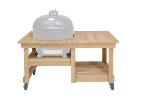 Cypress Counter Top Table Oval Xl 400 - Grill Tables