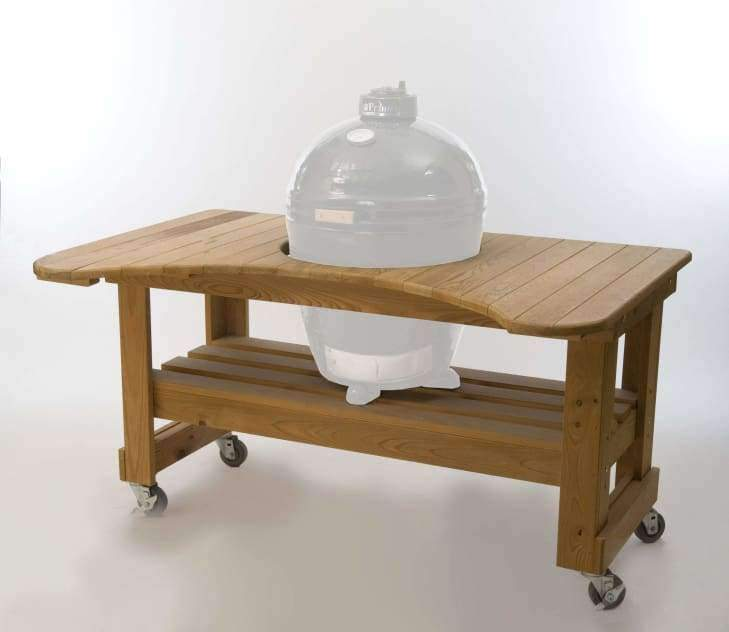 Cypress Table Kamado - Grill Tables