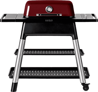 Everdure Grill FORCE 2 Burner Gas Grill (Red) - Everdure