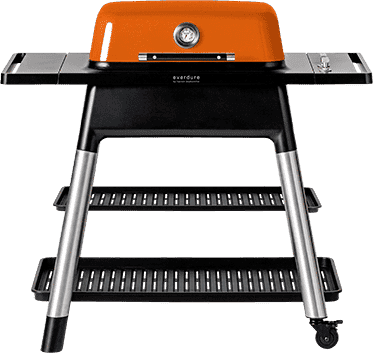 Everdure Grill FORCE 48-Inch 2-Burner Gas BBQ - Orange - Everdure