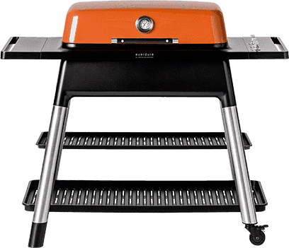 Everdure Grill FURNACE 3-Burner Gas BBQ (Orange) - Everdure