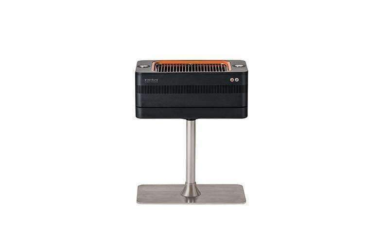 Fusion Electric Ignition Charcoal Barbecue With Pedestal - Charcoal Grill
