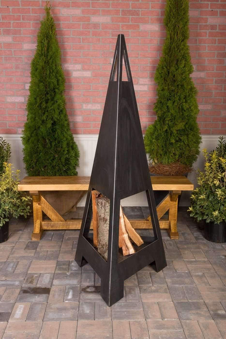Fire Guardian Jr. Steel Outdoor Fireplace