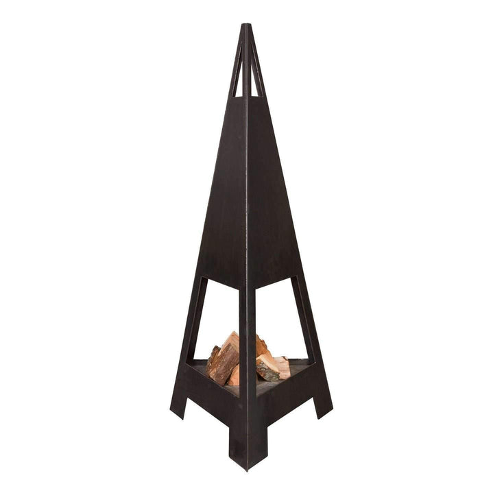 Fire Guardian Jr. Steel Outdoor Fireplace - Ember Haus