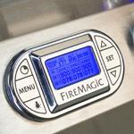 Fire Magic Built in grill digital controls