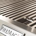 Fire Magic built in grill close up