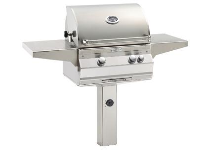 Fire Magic Aurora A430I In Ground Post Mount Grill - Fire Magic