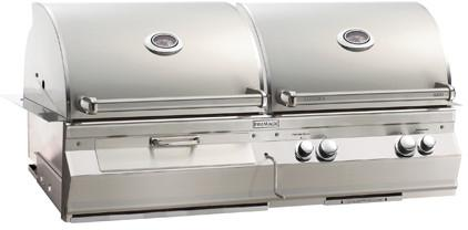 Fire Magic Aurora A830I Built-In Gas And Charcoal Grill Combo - Fire Magic