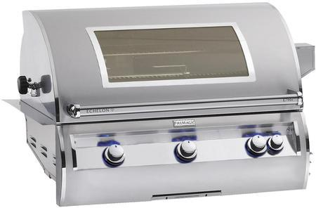 Fire Magic Echelon DIAMOND 790 36 inch Built In Grill With Window - Fire Magic
