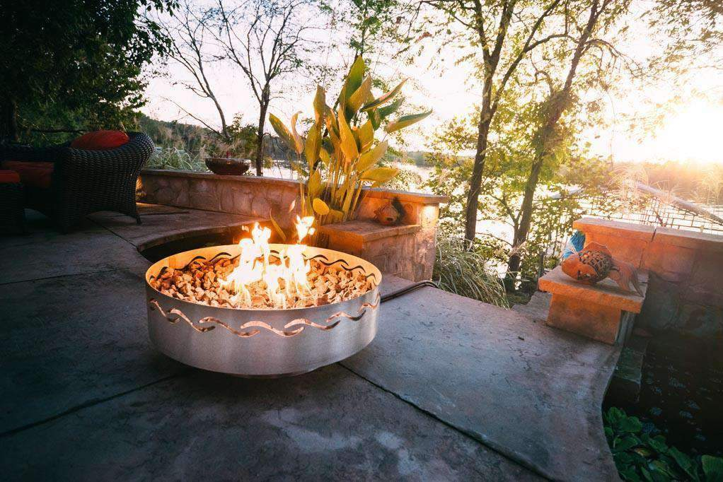 "Fire Pit - Fire Surfer 30"" Outdoor Fire Pit"