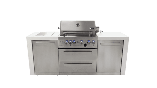 Mont Alpi 400 Deluxe Island Gas Grill - Island