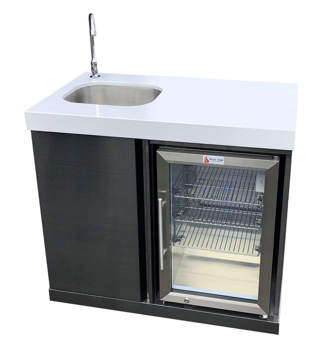 Mont Alpi Beverage Center - Black Stainless Steel