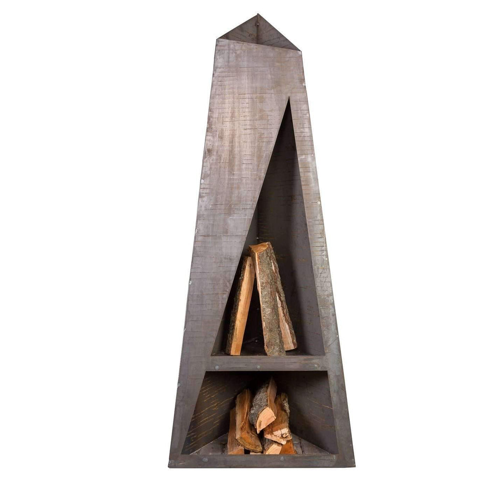 Night Torch Outdoor Fireplace - Ember Haus
