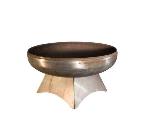 Ohio Flame Liberty Fire Pit - 30 Inch Diameter - Natural Steel Finish / Standard - Fire Pit