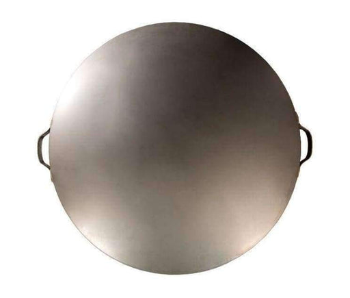 Ohio Flame Steel Fire Pit Lid - 24 Inch Diameter - Natural Steel Finish - Accessories