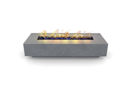Pallas Concrete Rectangular Fire Pit Table By Nisho - Nisho