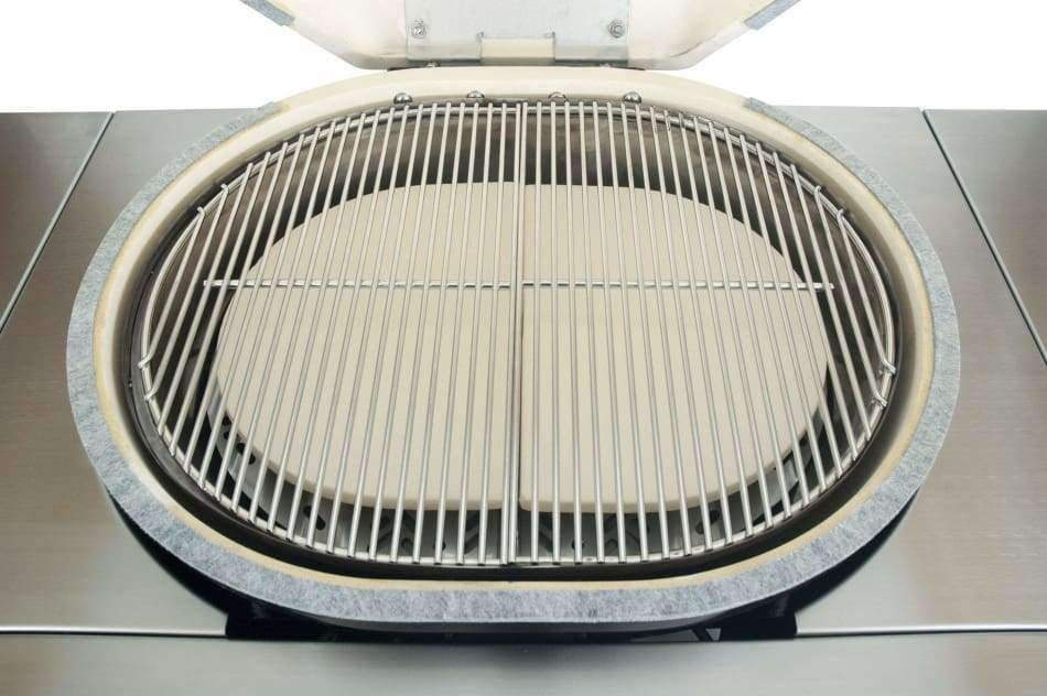 Primo Oval G420 All-In-One Ceramic Grill - Ceramic Grill