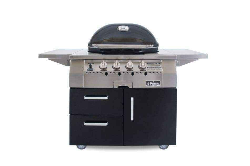 Primo Ceramic Grill G420 All-In-One Oval BBQ - Primo