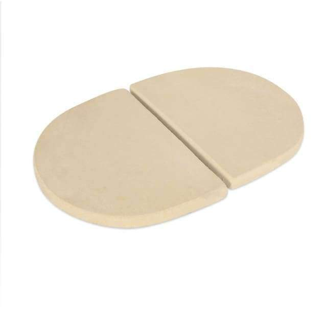 Heat Deflector Plates Oval Lg 300 (2 Pcs.) - Drip Pan Racks & Ceramic Heat Deflectors