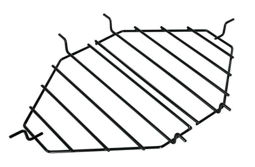 Primo Heat Deflector Rack/drip Pan Rack Oval Jr 200 (2 Pcs.) - Drip Pan Racks & Ceramic Heat Deflectors