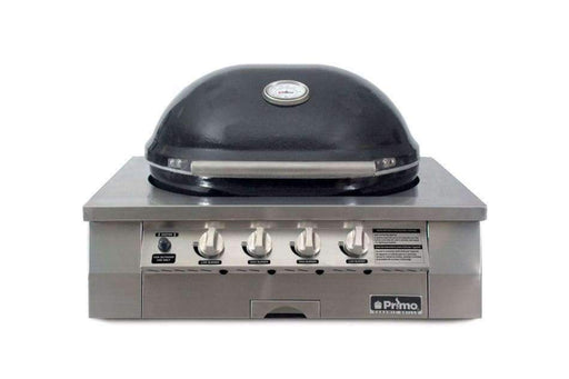 Primo Oval G420 Head Only Gas Grill - Ceramic Grill