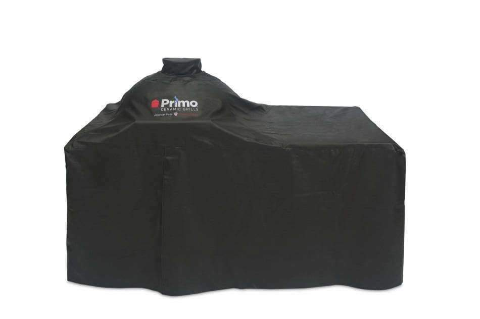 Grill Cover Oval Lg 300 With Counter Top Table - Grill Covers