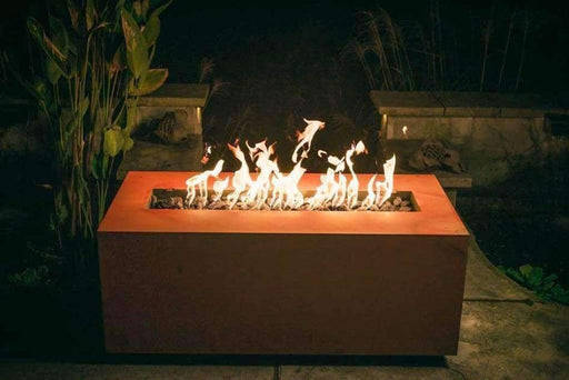 Fire Pit - Fire Pit Art Rectangle Fire Pit