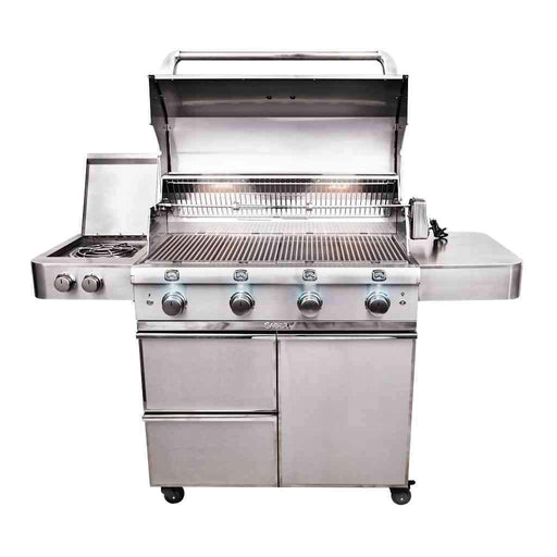 SABER 4-Burner Elite Cart Propane Grill