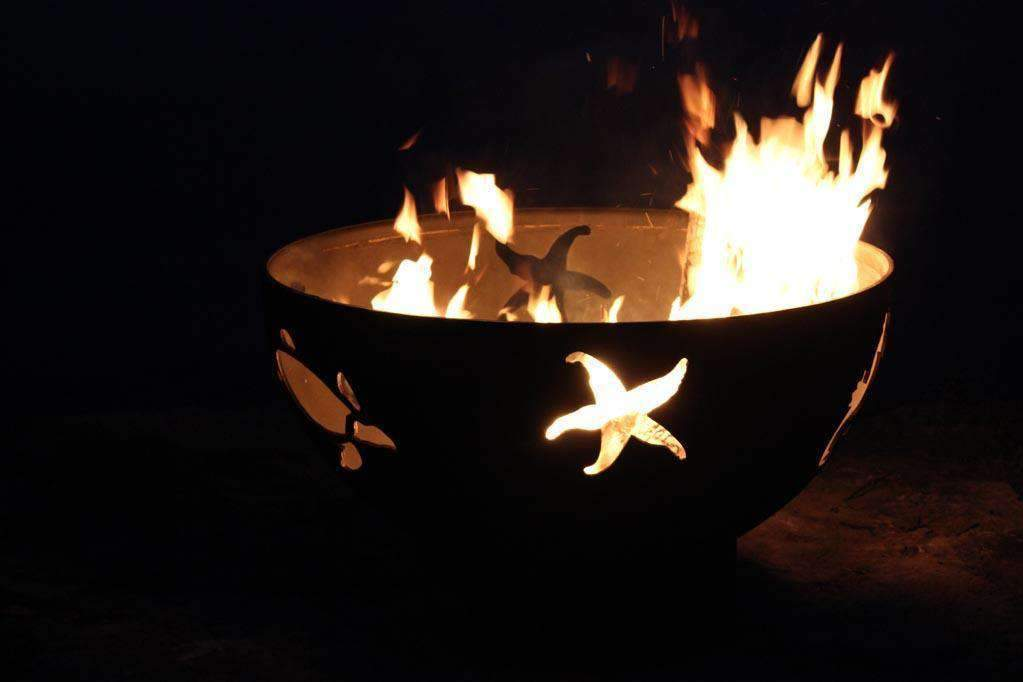 Fire Pit - Sea Creatures Fire Pit