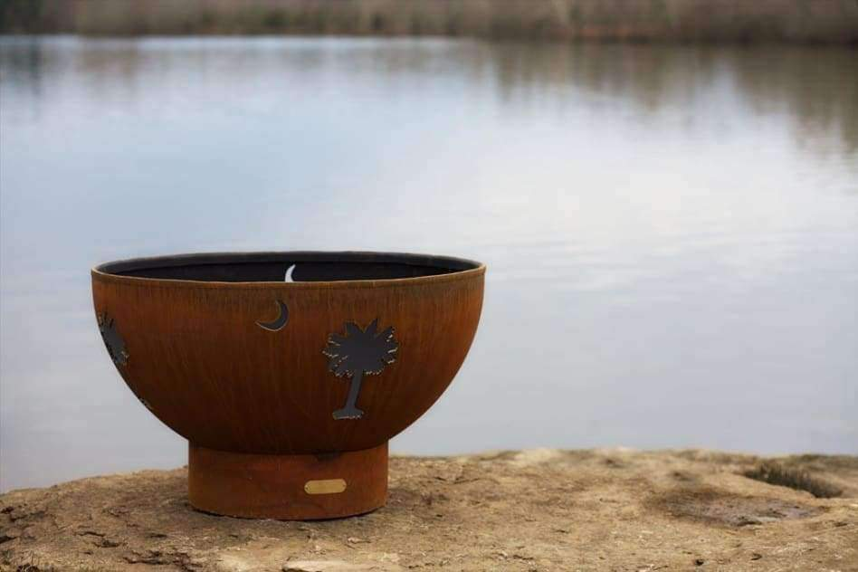 Tropical Moon Fire Pit - Fire Pit