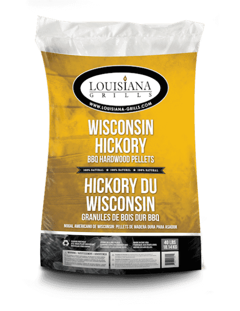 Accessories - Wisconsin Hickory Wood Pellets - 40 Lbs